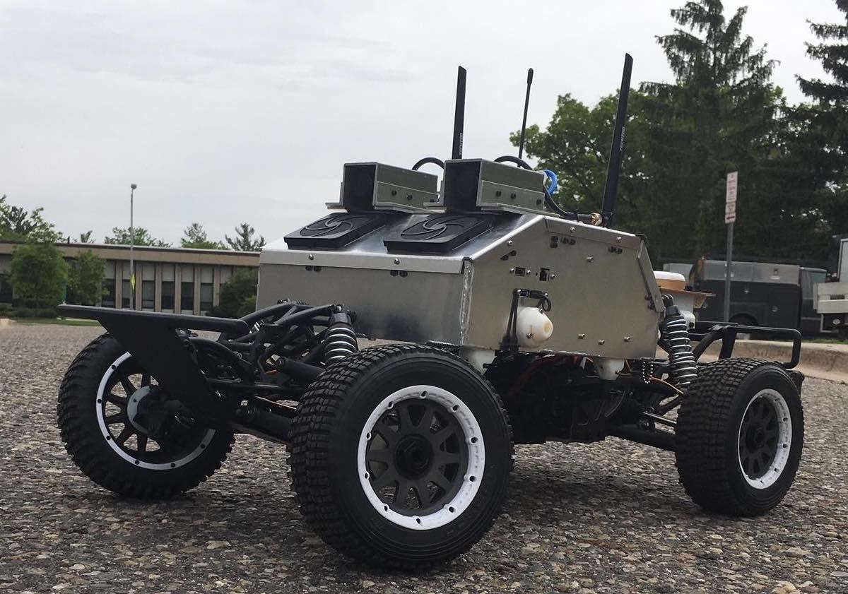 MSU EvoRally vehicle