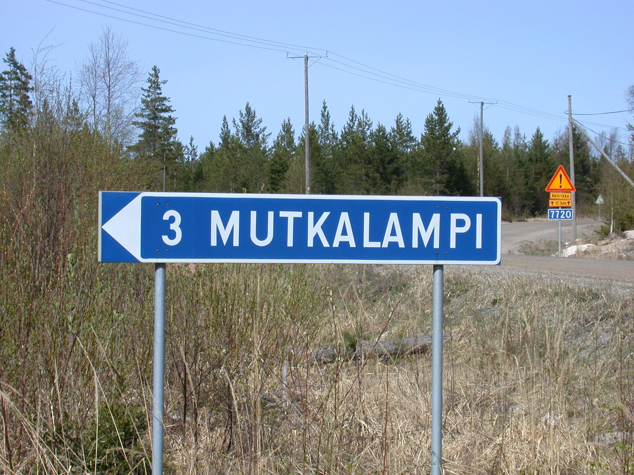 Direction to Mutkalampi